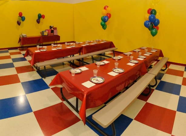 Birthday Party Indoor Inflatable Jumping Party